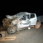 Acidente entre 4 veículos deixa uma pessoa ferida e concessionária diz que poeira causou batida em MT